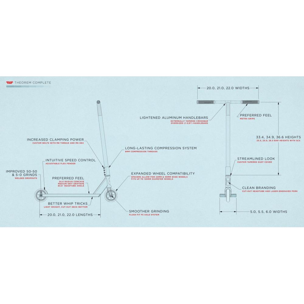 Трюкової самокат Tilt Theorem Pro S - Asphalt