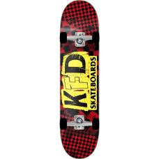 "KFD скейтборд Ransom Complete Skateboard 8.25"" - Red"