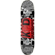 "KFD скейтборд Ransom Complete Skateboard 8"" - White"