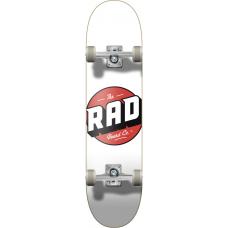 "RAD скейтборд Logo Progressive Complete Skateboard 8"" - White"