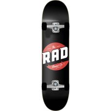"RAD скейтборд Logo Progressive Complete Skateboard 8.125"" - Black"