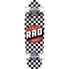 "RAD круїзер Retro Checker Cruiser Skateboard 28"" - Black"